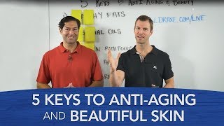 5 Keys to Anti-Aging and Beauty