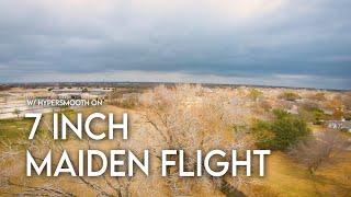 7 Inch FPV Build Maiden Flight (w/ EMAX Eco 2807s) (1440p)