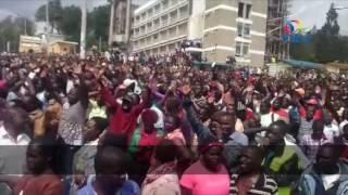 Nasa rally disrupted in Kabarnet - VIDEO