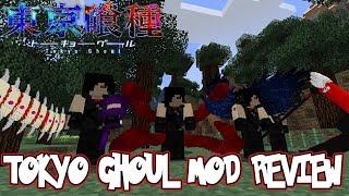 KAGUNE, QUINQUE & KAKUJA UNLEASHED! || Minecraft Tokyo Ghoul Adventure Mod Review