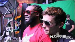 "J Randall feat T-Pain ""Can't Sleep"" - Behind the Scenes"