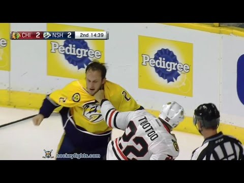 Anthony Bitetto vs. Jordin Tootoo