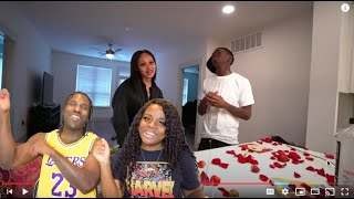 ME & MY GIRL FINALLY WENT ON OUR FIRST DATE!❤️ *Reaction*