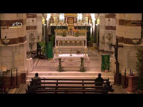 Laudes et Messe du 29 janvier 2021 à Notre-Dame de la Garde