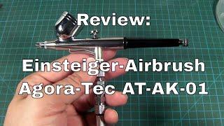 Review: Einsteiger-Airbrush Agora-Tec AT-AK-01 / BD-130K / GANZTON SP180K