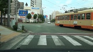 国道56号 上り その1 愛媛県松山市→松前町→伊予市