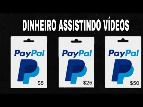 Via Paypal - Ganhar Dinheiro na Internet Assistindo Vídeos (Money no paypal)