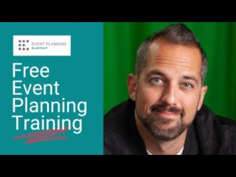 Free Event Planning Training - YouTube