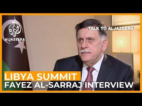 Fayez al-Sarraj on arms, war and peace in Libya |  Talk to Al Jazeera