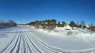 Видео360: дрон + Theta S (обзор на 360 градусов)