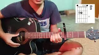 "Video thumbnail of ""Aine undak Guitar lesson | poba gourab | mising song | Miriwood"""