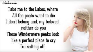 Taylor Swift - The Lakes [HD Lyrics]
