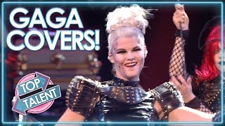 LADY GAGA COVERS Around The World! | Top Talent