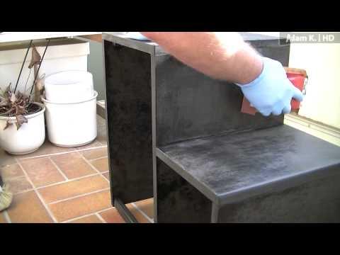 Heimwerker Tipp/Anleitung: Hocker/Stuhl selber bauen und hochglanz lackieren (aus MDF-Platten)