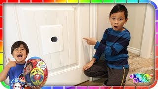 I Found A Secret Door To Ryan's Toys Review House👍🚀😆