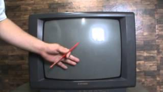 Televisão antiga sem entrada para conversor digital? O que fazer? parte 1