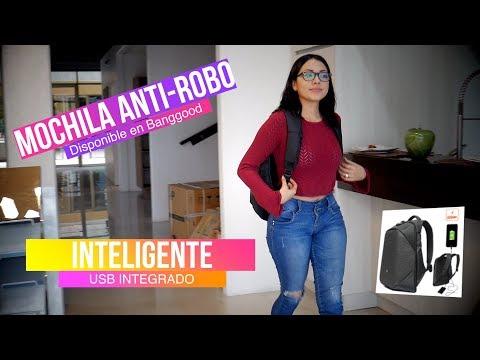 Mochila inteligente Anti-Robo y moderna para laptop ClickPack Pro