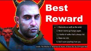 Gauntier O'Dimm's BEST reward for defeating Olgierd, Best Saddle in Witcher 3 #switcher #witcher3