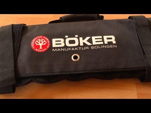 Böker 32er-Messertasche - Ein Schaufenster zum Mitnehmen
