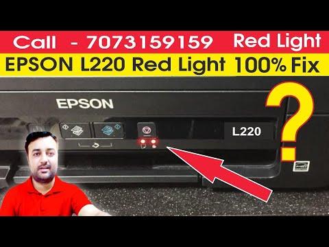 epson l380 red light blinking problem solution, Head