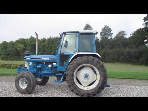 Video: Ford 7810 force II med turbo. 1