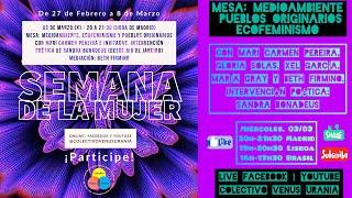 Mesa: Medioambiente, Pueblos Originarios, Ecofeminismo
