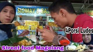 Street Food Magelang 4 PORSI Ludess *LeLe Kremes,Sate Padang,Nasi Goreng Telor Setengah Mateng,Soto*