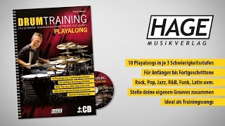 Drum Training Playalong Videos 1