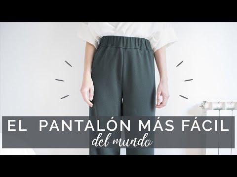 Cómo hacer el pantalón más fácil del mundo paso a paso