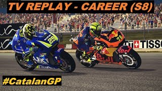 MotoGP Mod 2018 | Career #135 | #CatalanGP | #7 | TV REPLAY PC GAME