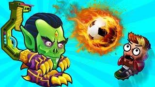Чемпионат мира по ФУТБОЛУ выбил Легендарного Футболиста в игре Голова Мяч крутая игра head ball 2