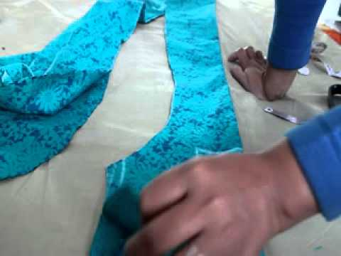 HOW TO MEASURE,CUT AND SEW PRINCESS CUT KURTI