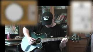 Everybody Hurts   REM   Acoustic Guitar Lesson (detune 1 Fret)