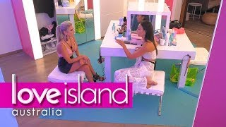 Tayla and Erin clear the air | Love Island Australia 2018