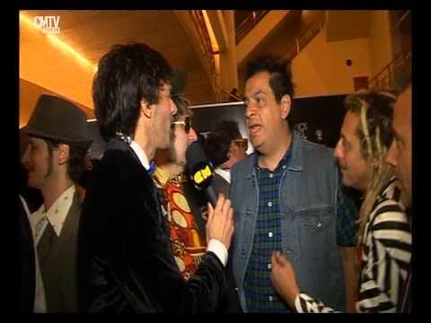 Los Auténticos Decadentes video Entrevista CM - Premios Gardel 2015