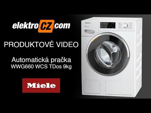 Předem plněná pračka prádla Miele WWG 660 WCS TDos 9 kg