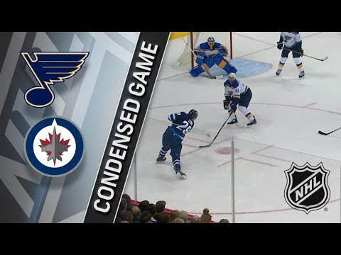 St. Louis Blues vs Winnipeg Jets – Dec. 17, 2017 | Game Highlights | NHL 2017/18. Обзор матча
