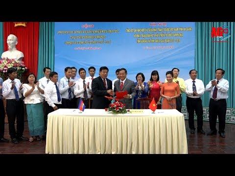 Tổng kết chương trình ghi nhớ hợp tác giữa mặt trận 3 tỉnh An Giang, Kandal và TaKeo