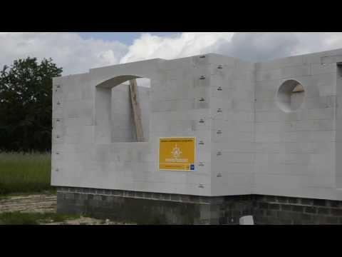 Budowa domu z bloczków Ytong Energo 48 cm w Patoku Nowym k. Łukowa - zdjęcie