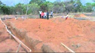 preview picture of video 'Construction of Umuaga hospital: Excavation for the foundation'