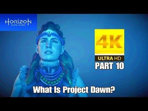 Horizon Zero Dawn PS4 PRO 4K 60FPS - What Is Project Dawn? (Part 10)