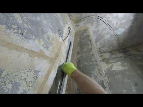 Как выровнять внутренние Углы стен квартиры с помощью Строительного Правила.