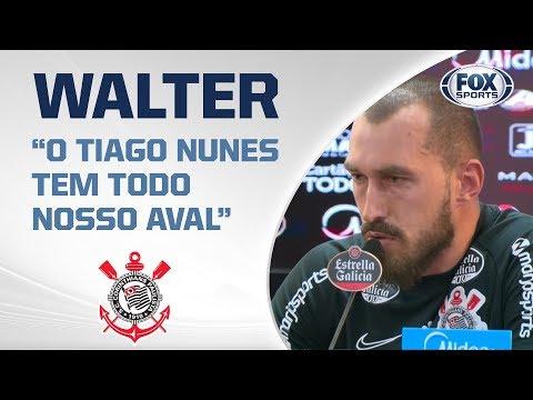 CORINTHIANS AO VIVO! Walter concede entrevista coletiva direto do CT Joaquim Grava