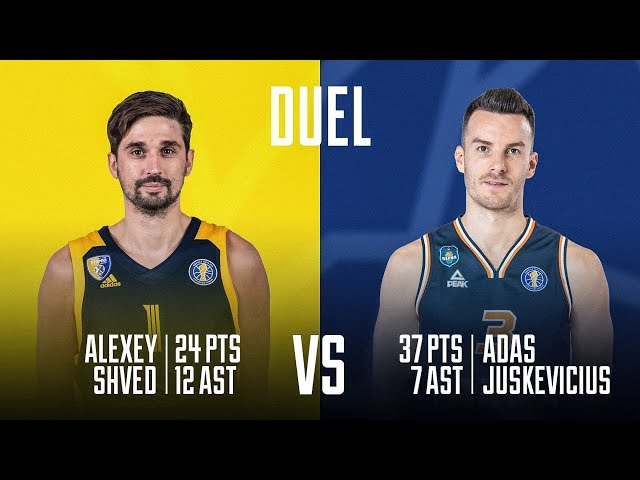 The Duel. Alexey Shved vs Adas Juskevicius | Season 2019-20
