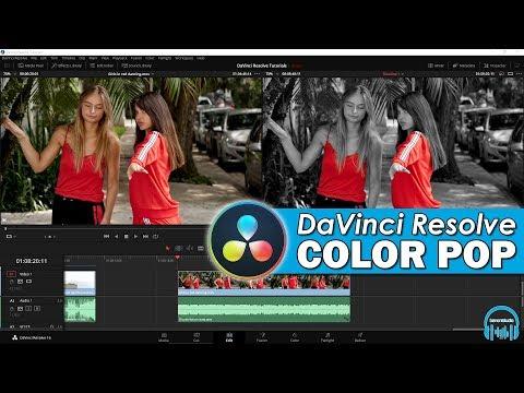 DaVinci Resolve - Color Pop