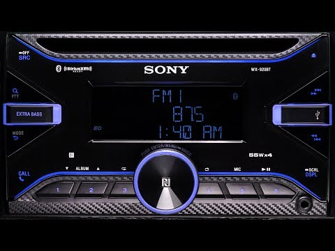 Sony WX-920BT Bluetooth CD Stereo with NFC