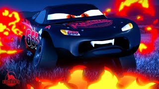 Cars 3 ⚡️ Evil McQueen + Dracula Mater (part 2) Nightmarecraft