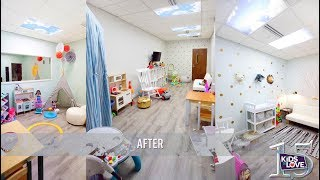 Kids to Love Unveils New Family Room for Foster Children