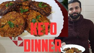 Low Carb Fried Mac and Cheese |Keto Dinner Recepie