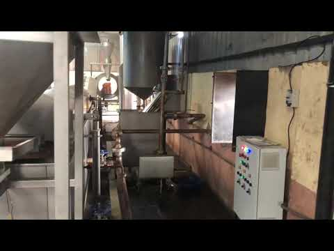 Multi Product Continuous Fryer With Wood Heat Echanger